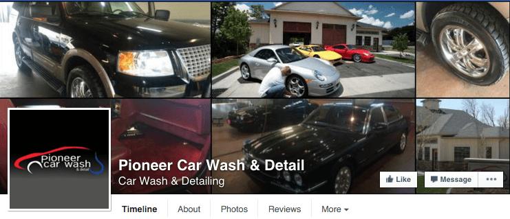 Pioneer Auto Spa Facebook